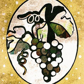 Vintage Grapes by TapoJusti