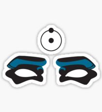 The Doctor Is Watching - Watchmen Comic Sticker