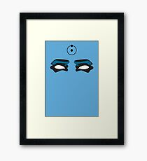 The Doctor Is Watching - Watchmen Comic Framed Print