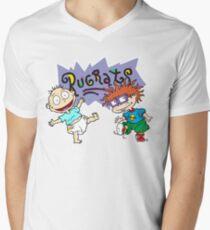Rugrats - Tommy & Chuckie Men's V-Neck T-Shirt