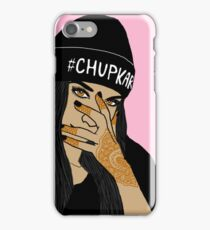 Chup Kar Beanie Girl  iPhone Case/Skin