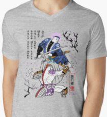 Dragon Ball Z - Future Trunks vs Frieza - 2 - Samurai Art  Men's V-Neck T-Shirt