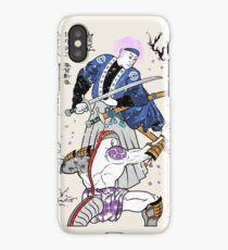 Dragon Ball Z - Future Trunks vs Frieza - 2 - Samurai Art  iPhone Case/Skin
