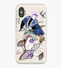 Dragon Ball Z - Future Trunks vs Frieza - 2 - Samurai Art  iPhone Case