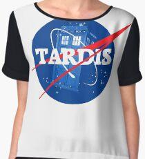 TARDIS - Doctor Who Chiffon Top