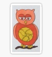 Unique Owls Sticker