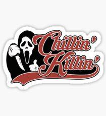 Ghostface Chillin & Killin Sticker