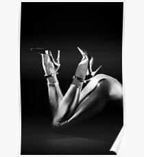 Shiny Heels Poster
