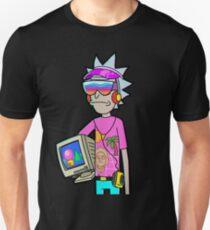 Vaporwave Rick Unisex T-Shirt