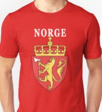 Norge Norway National Game Design T-Shirt