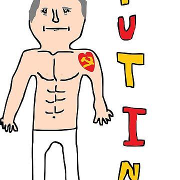 Putin by AlexAdamsonArt