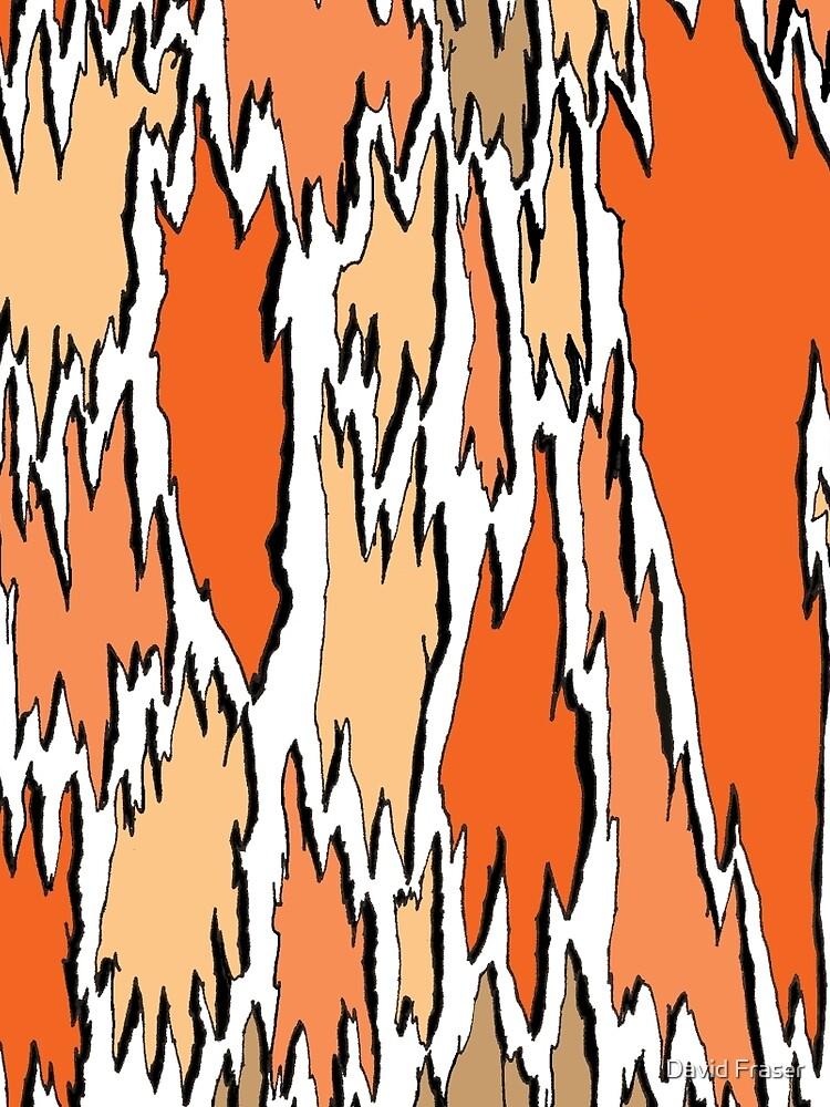 Bark - orange by davidfraser