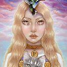 Wunjo Rune Maiden by MoonSpiral