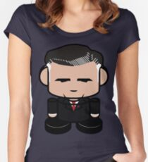 Romneo'bot Politico'bot Toy Robot 1.0 Women's Fitted Scoop T-Shirt