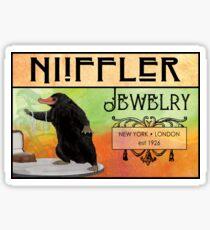 NIiffler Jewelry Pouch Sticker