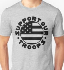 Support Our Troops Flag T-Shirt