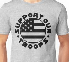 Support Our Troops Flag Unisex T-Shirt
