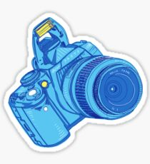 dslr / color Sticker