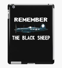 Corsair WWII History Black Sheep Squadron - Jet Pilot iPad Case/Skin