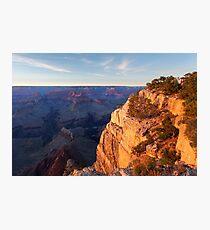 Sunset at the Grand Canyon, USA Photographic Print