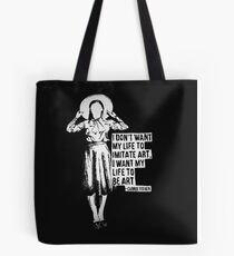 Carrie Fisher Tote Bag