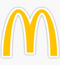 McDonald's Logo Sticker
