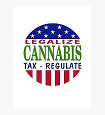Legalize Cannabis Marijuana Photographic Print