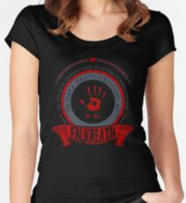Dark Brotherhood - Falkreath Women's Fitted Scoop T-Shirt