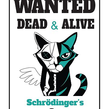 Wanted - Schrödinger's Cat  by starstuffstore