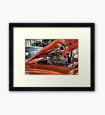 Big Blower. Framed Print