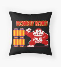 Donkey Kong Throw Pillow