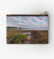 Low Tide at Rickett's Point, Beaumaris Zipper Pouch