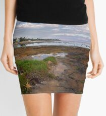 Low Tide at Rickett's Point, Beaumaris Mini Skirt