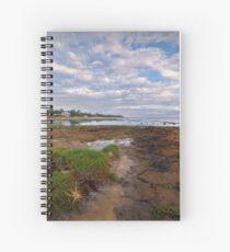 Low Tide at Rickett's Point, Beaumaris Spiral Notebook