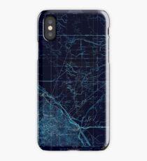 USGS TOPO Map California CA Tupman 301548 1933 31680 geo Inverted iPhone Case
