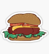 Burg Sticker