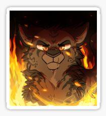 Tigerstar Aufkleber Sticker