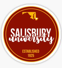 Salisbury University - Style 17 Sticker