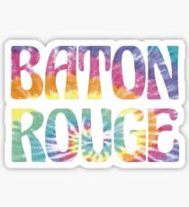 BATON ROUGE TIE DYE Sticker