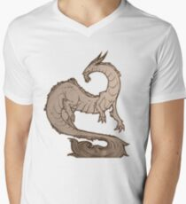 Dragon of the West Men's V-Neck T-Shirt