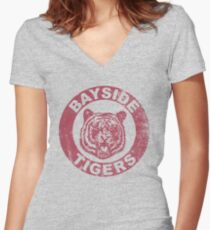 Go Bayside Women's Fitted V-Neck T-Shirt