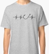 Fishing Heart Beat Classic T-Shirt