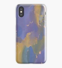 Acrylic Print - Yellow/Blue/Purple iPhone Case