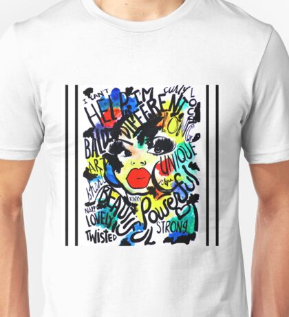 I CAN'T HELP THAT I'M DIFFERENT Unisex T-Shirt