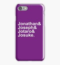 JoJo & Helvetica iPhone Case/Skin