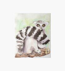 Toadstool (The Lemur Who Sat TOO Long) Art Board