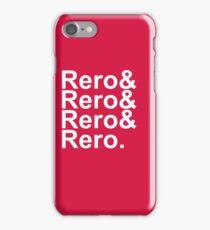 Rero& Helvetica iPhone Case/Skin