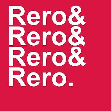 Rero& Helvetica by cheezetoast