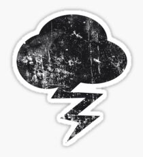 Cloud and storm Sticker