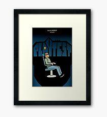Black Mirror - Playtest Framed Print